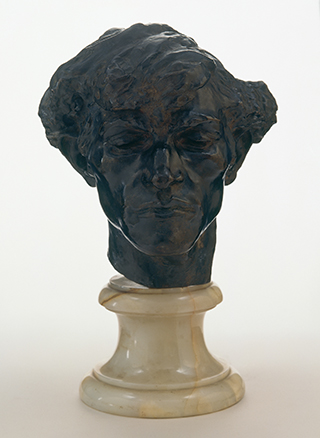 Camille Claudel, Giganti (Kopf eines Banditen), 1885
