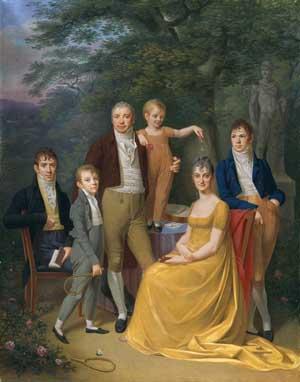 What is Love?: Carl Friedrich Demiani, Familienbild, 1806, Kunsthalle Bremen – Der Kunstverein in Bremen