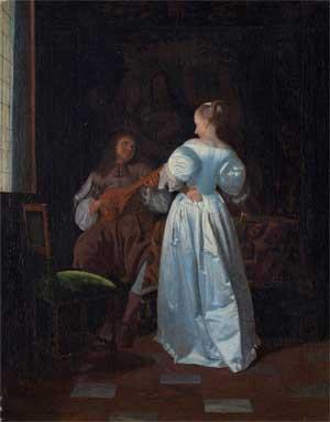 Jacob Ochtervelt, Die Serenade
