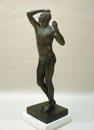 Auguste Rodin, Das eherne Zeitalter, 1875/76