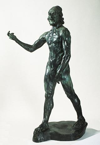 Auguste Rodin, Johannes der Täufer, 1878-80