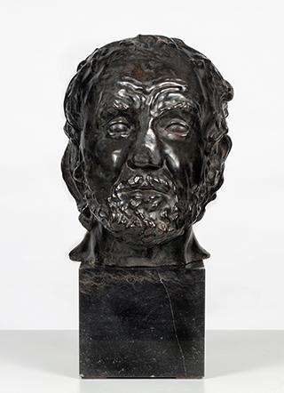 Auguste Rodin, Mann mit gebrochener Nase, 1863/64