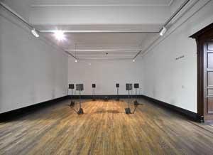 Bani Abidi, Maatam in 8 Different Beats, 2019, Installationsansicht Kunstpreis der Böttcherstraße in Bremen 2020, Kunsthalle Bremen, Courtesy Bani Abidi, Foto: Marcus Meyer
