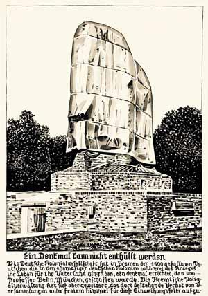 Fernando Bryce, Zeichnung aus