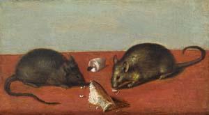 Jacques de Gheyn II., Mäuse, um 1600, Kunsthalle Bremen – Der Kunstverein in Bremen