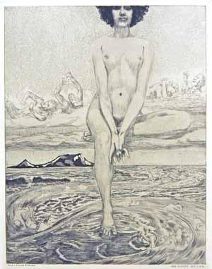 Max Klinger, Blatt 26, Die große Göttin, aus