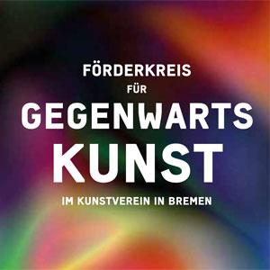 Broschüre zum Förderkreis für Gegenwartskunst (PDF)