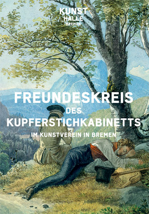Folder about the Friends' Circle of the Department of Prints and Drawings (PDF - in German)