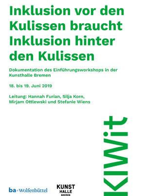 Dokumentation eines Workshops zur Inklusion in Kultureinrichtungen (06/2019 | PDF)